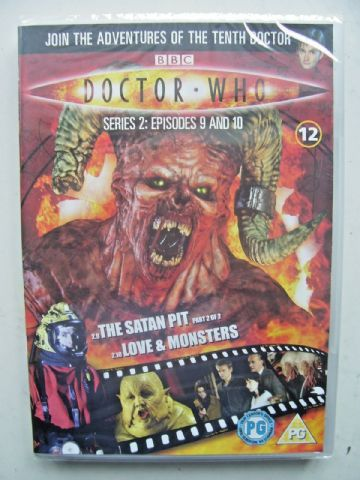 Doctor Who Series 2 Episodes 9 & 10  DVD David Tennant - NEW and SEALED